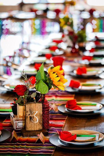 Fiesta tabling