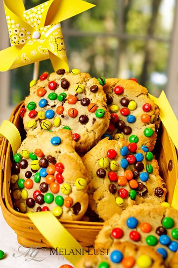 M&Ms Cookies. Welcome your out-of-town guests or send off your wedding guests with these or another...