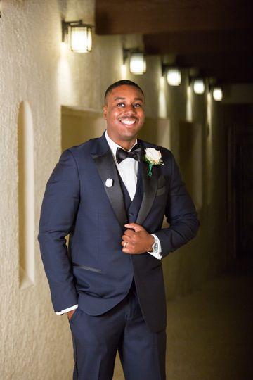 Dashing groom