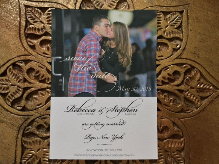 Tmx 1456023233210 Image Greenwich wedding invitation