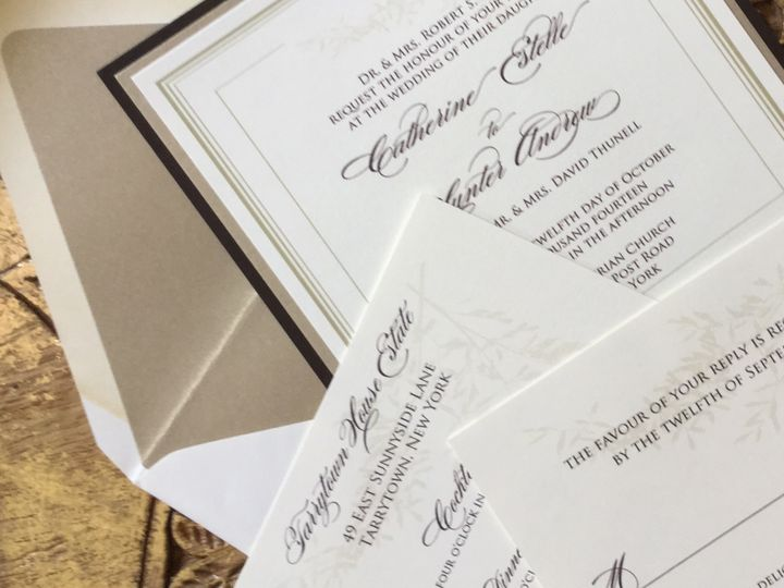 Tmx 1456027234631 Image Greenwich wedding invitation