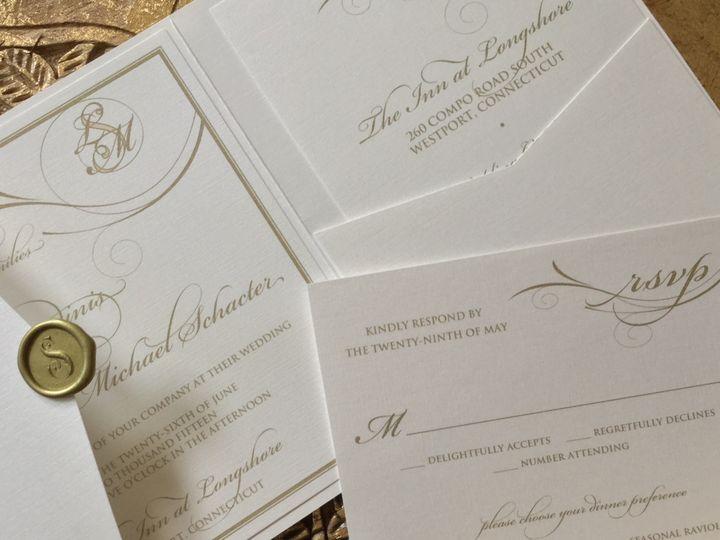 Tmx 1456027248217 Image Greenwich wedding invitation