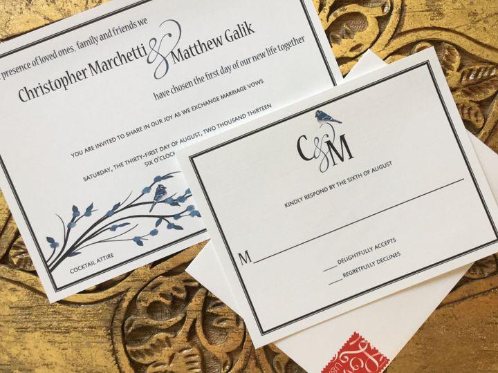 Tmx 1456027306362 Image Greenwich wedding invitation