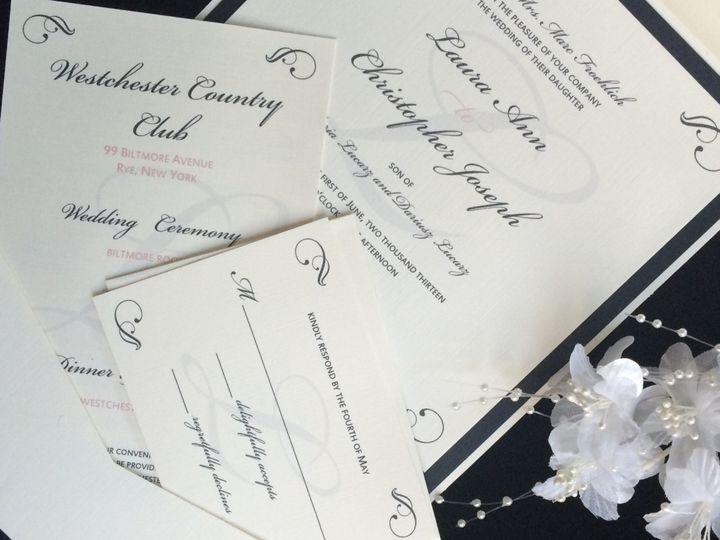 Tmx 1456027346595 Image Greenwich wedding invitation