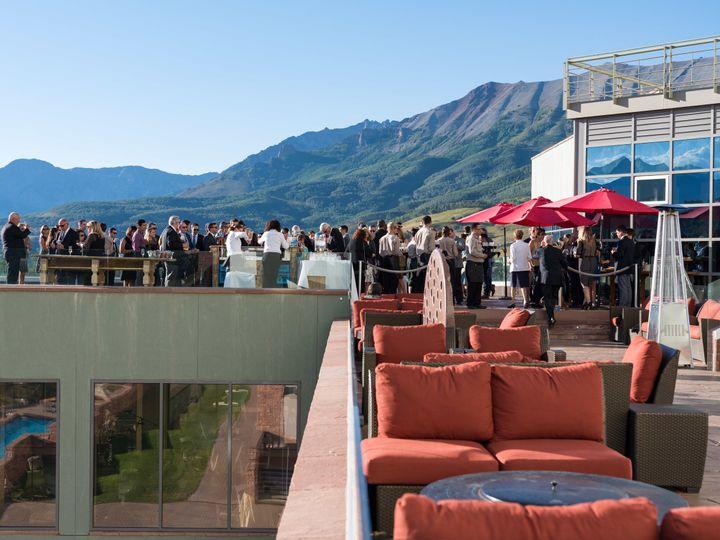 Tmx 1523289488 4dfb505fd766d35a 1523289483 Ee5dd908dce61e49 1523289481806 15 AZ Cocktail Hour  Telluride, CO wedding venue