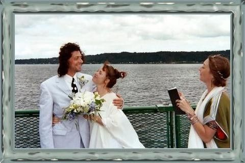 Eloping on the ferry to Bremerton
