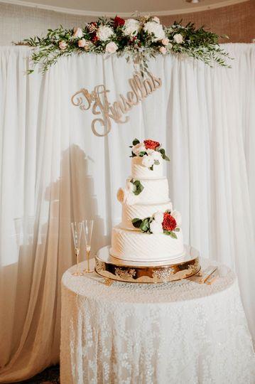 Wedding cake by Buttercream