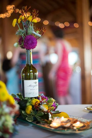Photo by Jen Fariello. Florals/Decor by Sugar Snap Events.