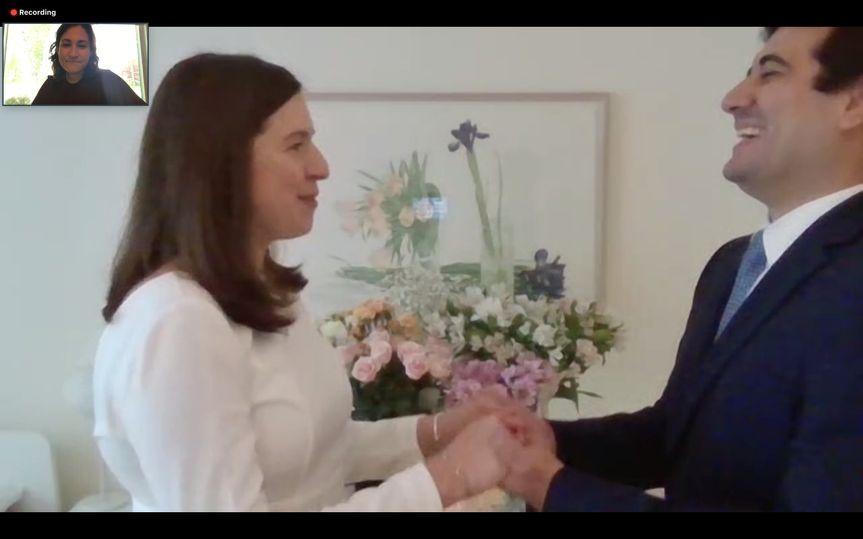 Virtual Wedding!
