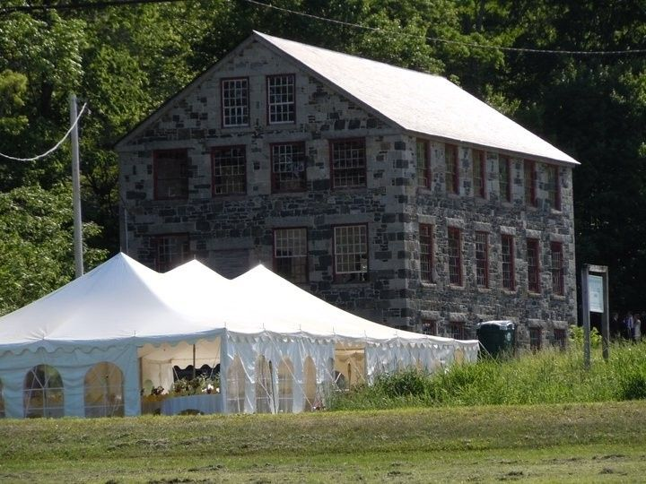 Tmx 1455294009870 Stone Mill With Outdoor Tent Enfield, New Hampshire wedding venue