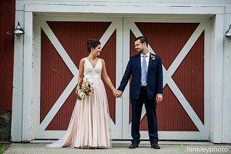 Tmx 1502130772228 Susan And Garrett In Front Of Barn Google Ad Enfield, New Hampshire wedding venue