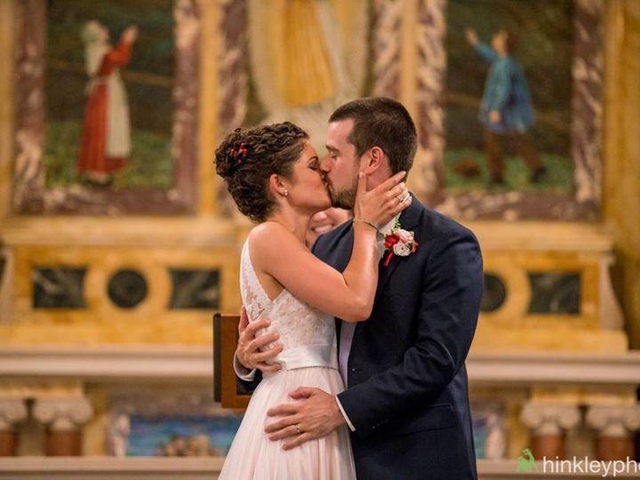 Tmx 1502130778734 Susan And Garrett Kissing In Mary Keane Chapel Enfield, New Hampshire wedding venue