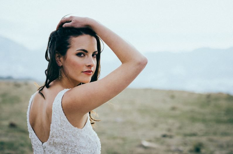 Makeup for wedding portrait