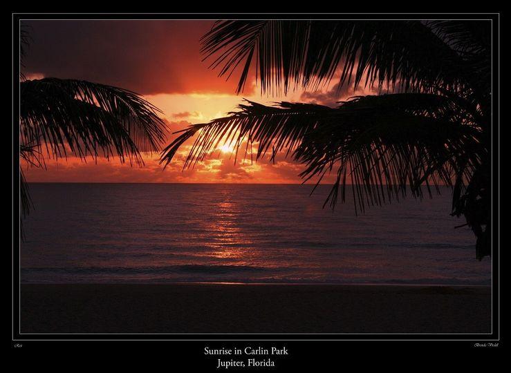 sunrise at carlin park jupiter florida 1small