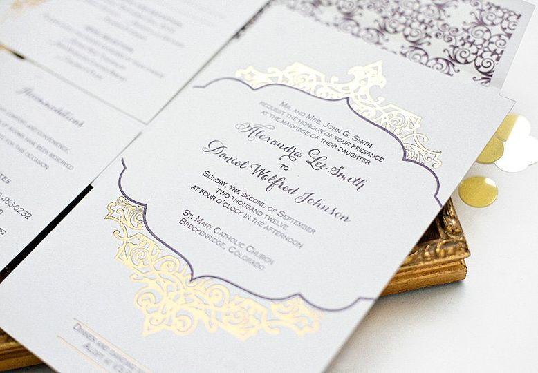 Southern Fried Paper Invitations Dallas Tx Weddingwire