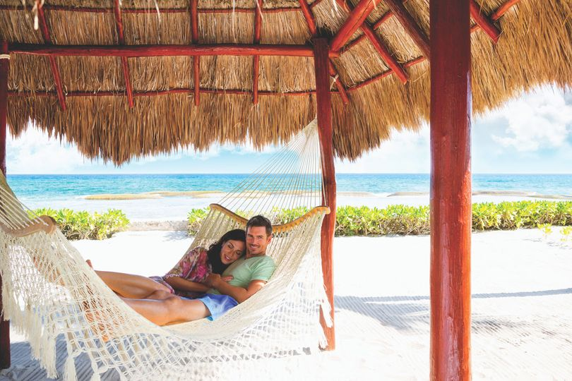Couple on the hammock