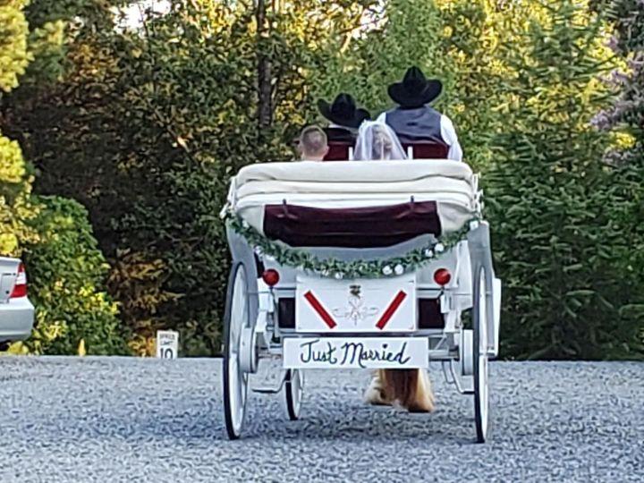 Tmx Back Of Carriage 51 1535227 1566166834 Walnut Cove, NC wedding transportation