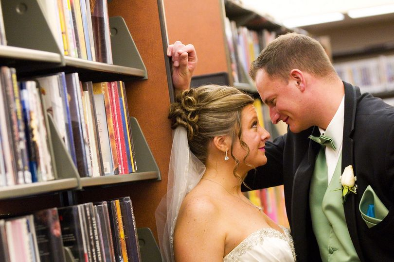 At the library. We specialize in literary weddings.