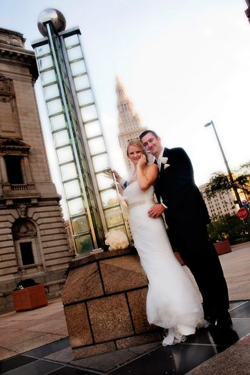 Downtown Cleveland offers so many areas for great shots.
