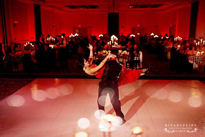 vividlite wireless led lighting red dance
