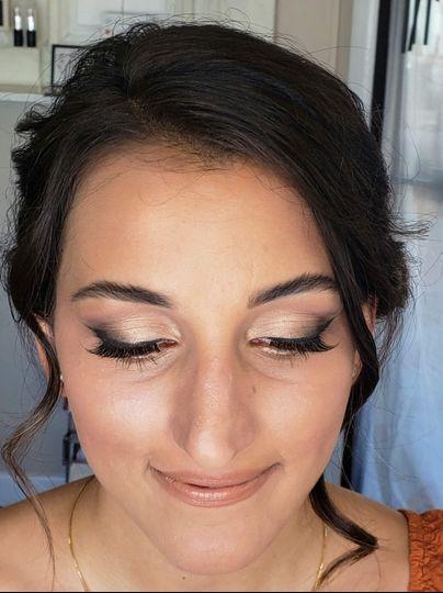 Bridal makeup by Kim