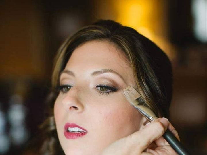 Tmx 1445527497360 Applying Makeup Stoneham, MA wedding beauty