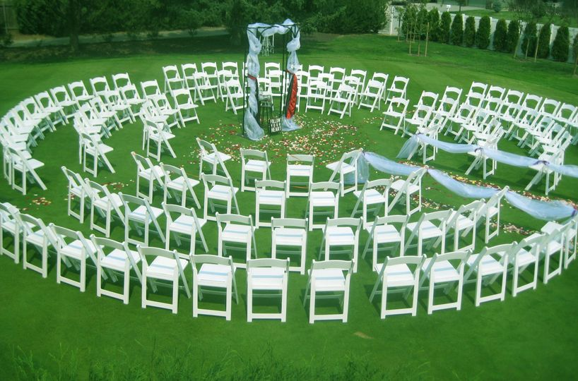 Eagle hills golf course venue eagle id weddingwire for Chair network golf