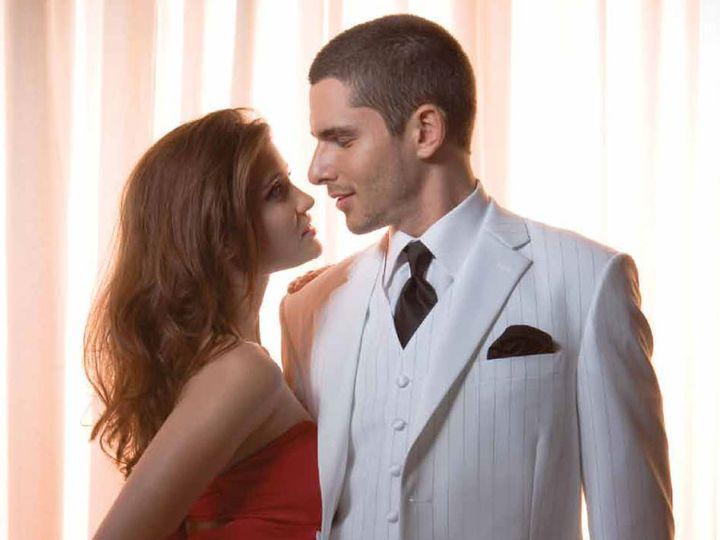 Tmx 1403579679572 164 White Stripe Casino Tuxedo Council Bluffs wedding dress