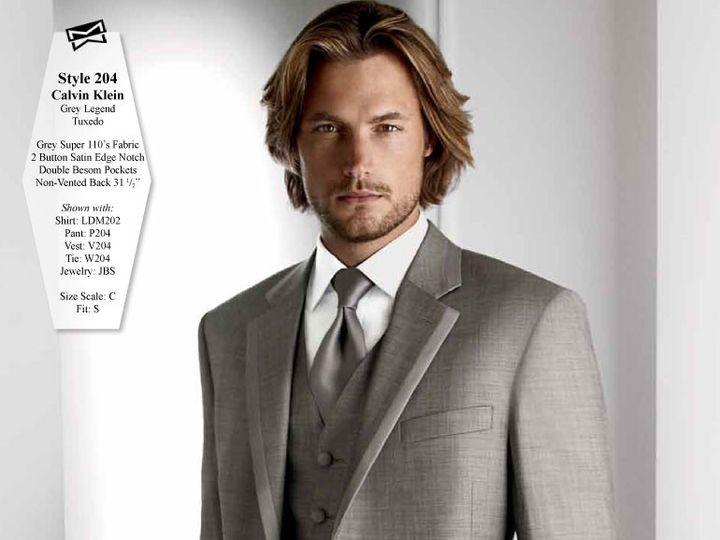 Tmx 1403579684523 204 Grey Legend Tuxedo Council Bluffs wedding dress