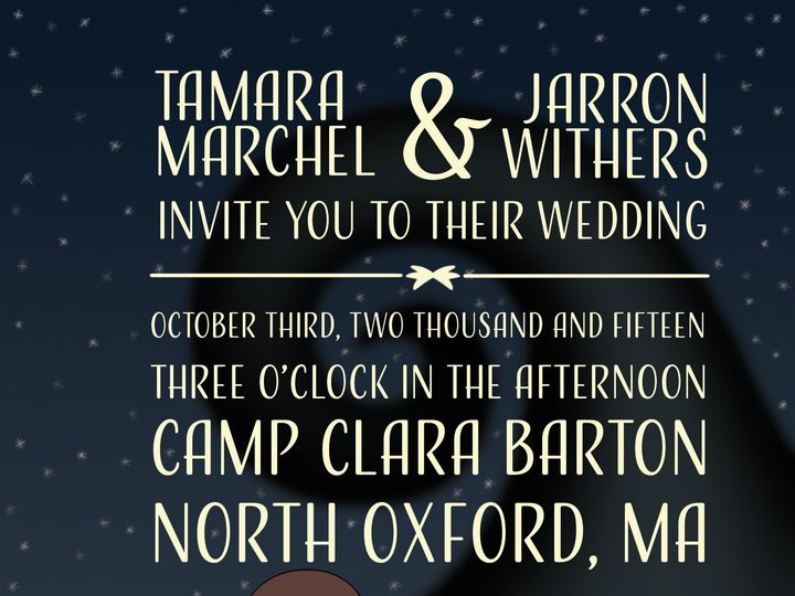 Tmx 1512655467312 Marchelinvite3 Boston wedding videography
