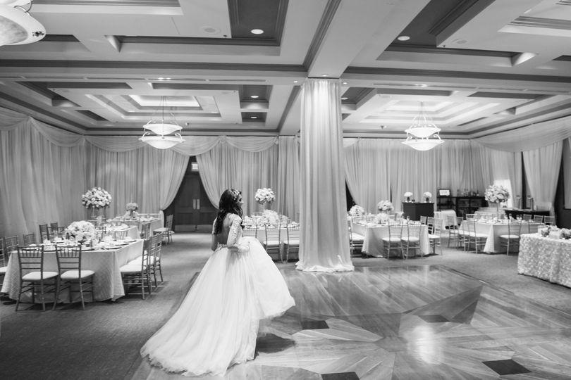 Grand highlands ballroom - first look