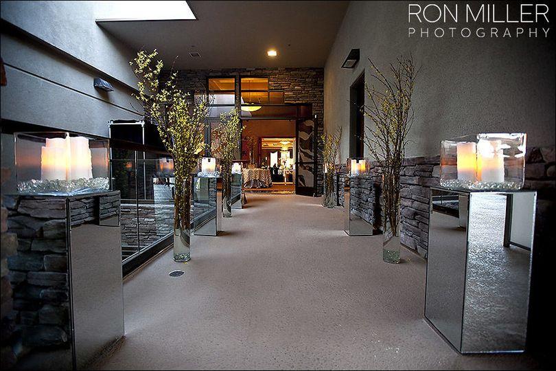 Entrance to the grand highlands ballroom