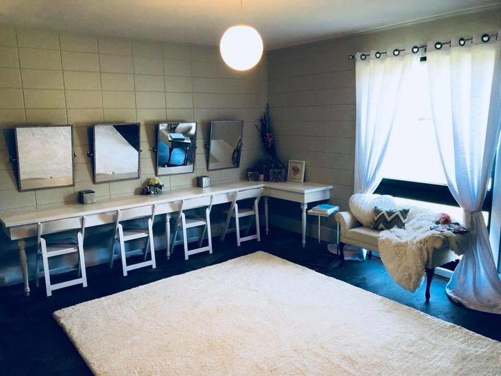 Bride's preparation room