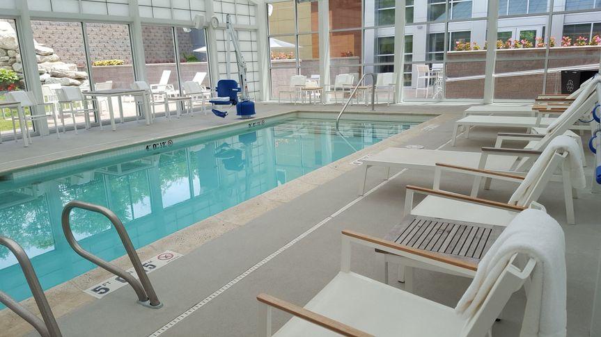 Indoor Heated Saline Pool