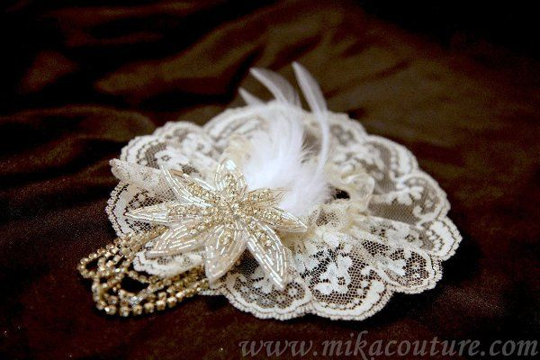 French lace Garter $40.00