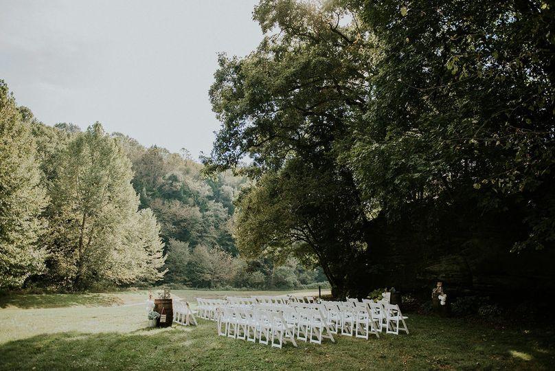 Main ceremony lawn