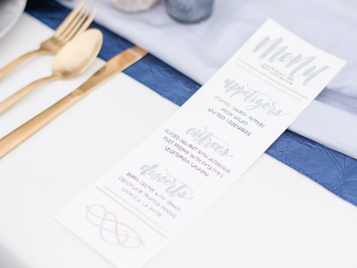 Tmx Menu Card Romantic 51 1050327 Pasco, WA wedding invitation