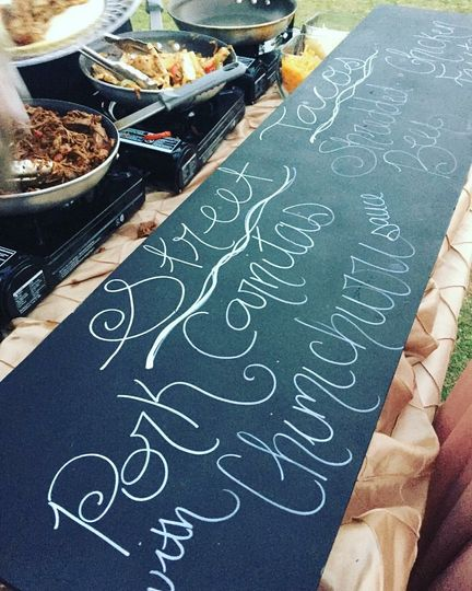 Our Street Taco Action Station adds a bit of entertainment to your event!