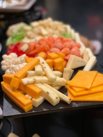 Veggie and Cheese Board