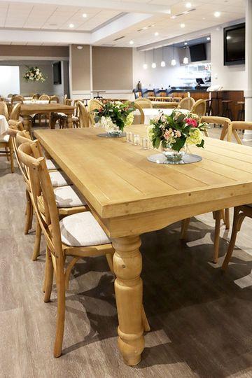 Photo of Rectangular Table