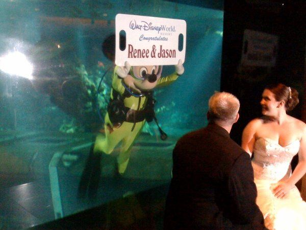 Scott Messina is Walt Disney World's Top Wedding Entertainer/DJ.