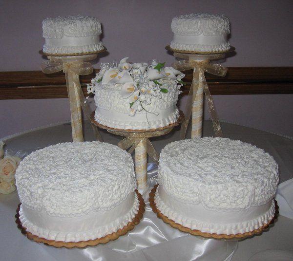 Plain white cakes