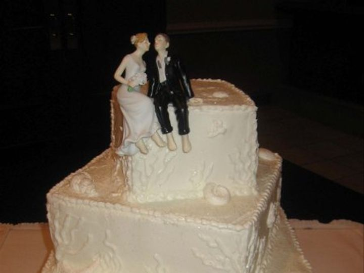 Tmx 1296158603643 4TierSeashellWeddingCake Pawtucket, RI wedding cake