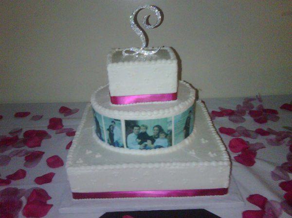 Tmx 1296158792487 FilmStripWeddingCake Pawtucket, RI wedding cake