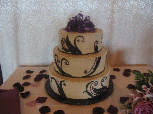 Tmx 1296159637237 CoffeewBlackWeddingCake Pawtucket, RI wedding cake