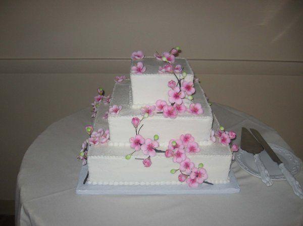 Tmx 1296159683112 CherryBlossomWeddingCake Pawtucket, RI wedding cake