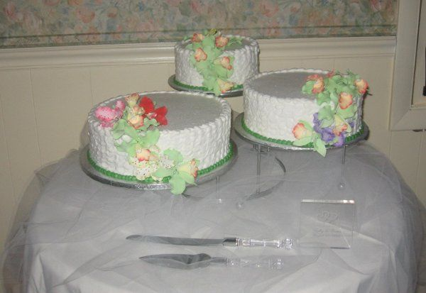 Tmx 1296159805440 3CakeCatalayaOrchads Pawtucket, RI wedding cake