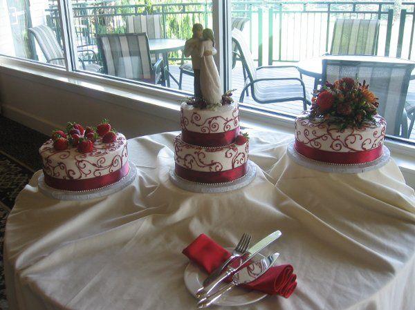 Tmx 1296159915659 StrawberryScrollsWeddingCake Pawtucket, RI wedding cake
