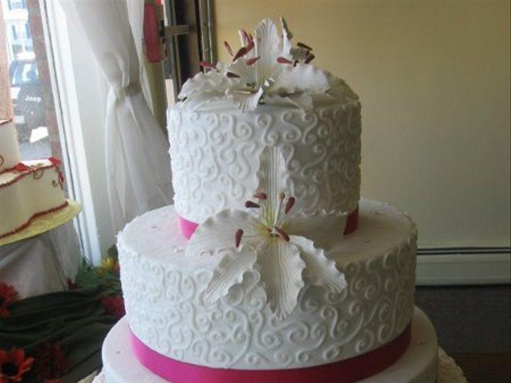 Tmx 1326211354404 Wed0067 Pawtucket, RI wedding cake