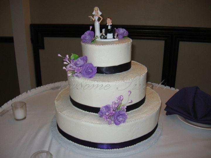 Tmx 1393440244322 Wed021 Pawtucket, RI wedding cake